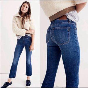 Madewell Cali Demi-Boot Jeans in Lockwood Wash 24